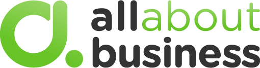 all about business logo
